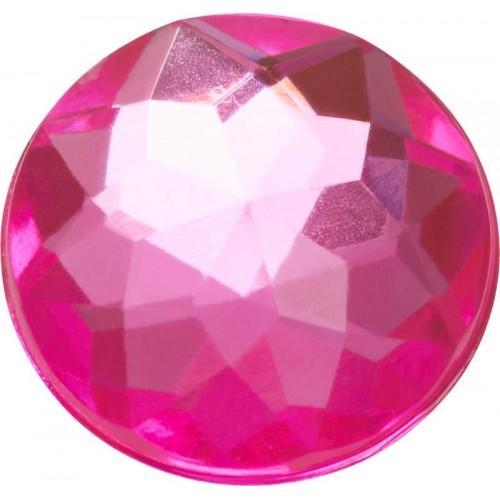 JIBBITZ Sparkly Pink Circle