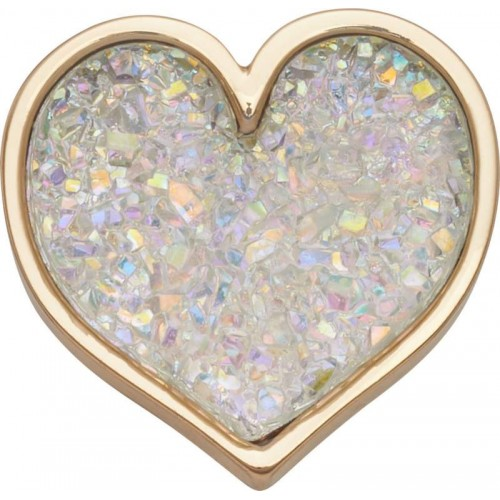 JIBBITZ Sparkly Glitter Heart