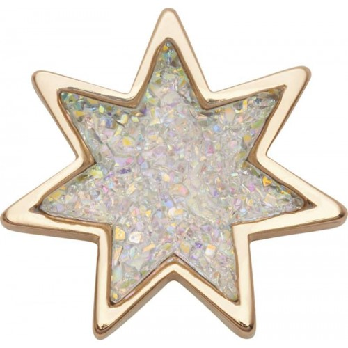 JIBBITZ  Sparkly Glitter Star