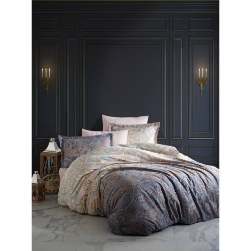 Puuvillasatiin voodipesukomplekt Calipso 200x200 cm
