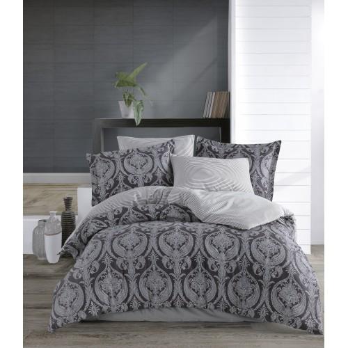 Puuvillasatiin voodipesukomplekt Jacquard 200x200 cm