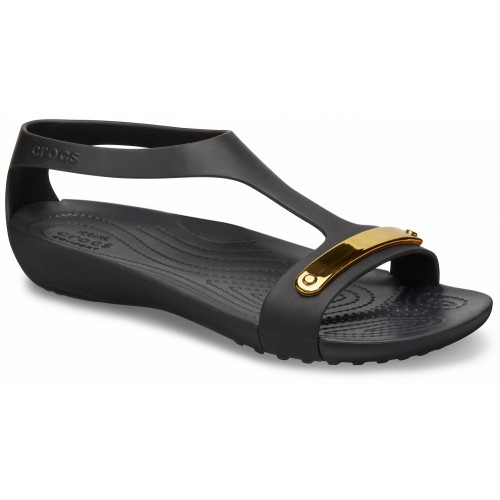 Crocs™ Serena Metallic Bar Sandal