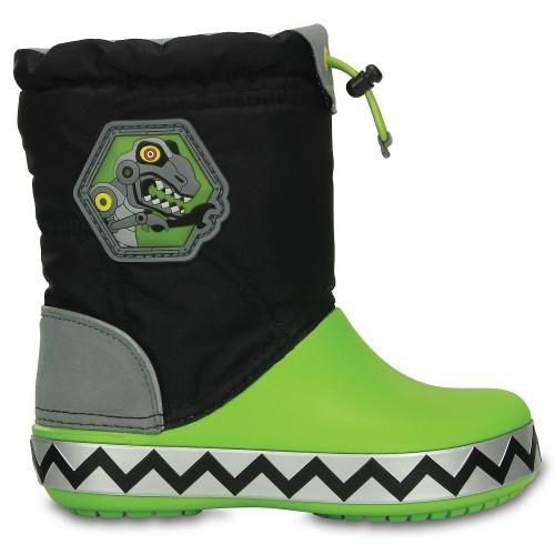 Crocs™ Kids' Light Lodgepoint Robosaur Boot