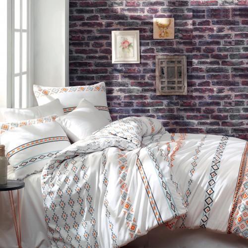 Puuvillane voodipesukomplekt Etnico 200x200 cm