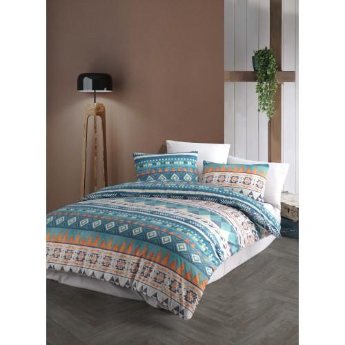 Puuvillane voodipesukomplekt Mari Blue 200x200 cm
