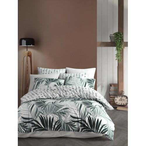Puuvillane voodipesukomplekt Sandy Green 200x200 cm