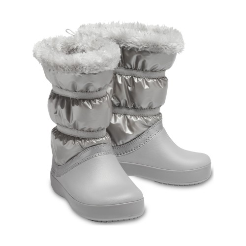 Crocs™ Crocband LodgePoint Metallic Boot Girl's